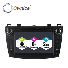 Ownice C500 8 Core Car DVD GPS Navi player for Mazda 3 2010-2015 with Canbus Android 6.0 quad core 2GB RAM 32GB ROM Support 4G(China)