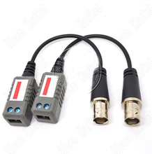 SmonisiaPairs Monitor Accessory Passive UTP Video Balun Transceiver Security BNC Jack On Sale