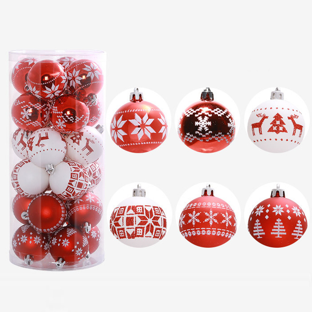 Christmas tree ball decorations