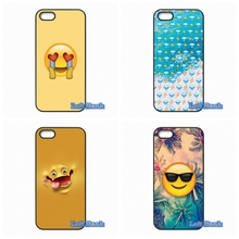 For Blackberry Z10 Q10 HTC Desire 816 820 One X S M7 M8 M9 A9 Plus cute emojis Case Cover(China)