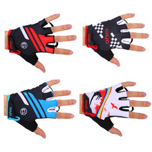 Buy Clearance Cycling Gloves Half Finger Mens Women's Summer Sports Shockproof Road Bike Gloves GEL Moutain Bicycle Gloves for $4.20 in AliExpress store