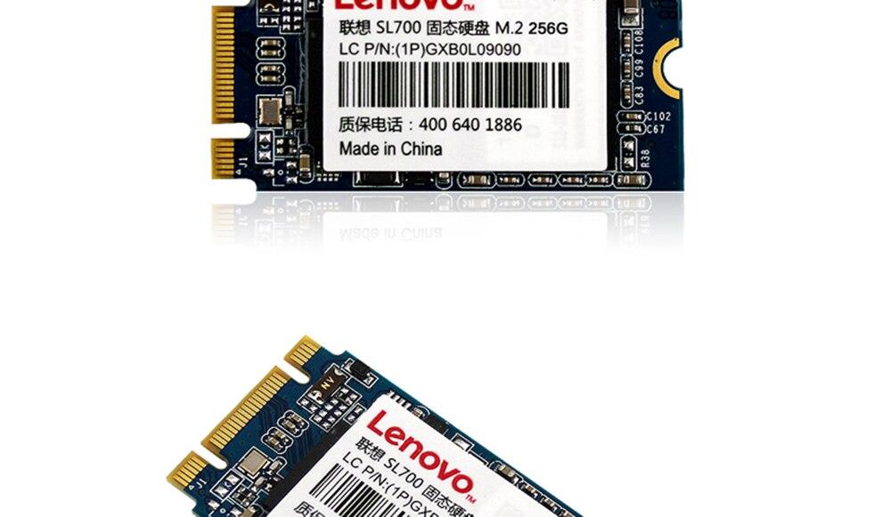 Original Lenovo SSD Internal Solid State Disk 256GB 128GB Hard Drive NGFF  M 2 2242/2280 for Laptop Desktop PC