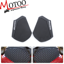 Motoo-For HONDA CBR600RR 2013-2015 Tank Pad Protector Sticker Decal Gas Knee Grip Tank Traction Pad Side 3M(China)