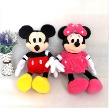 Specials Mickey & Minnie Mickey Mouse plush toy doll 65CM large plush doll free shipping AF00012