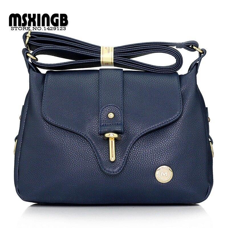 High Quality Womens Handbags Fashion Ladies Satchel/Shoulder Bags Genuine Leather Crossbody Women Messenger Bag Bolsas Feminina<br><br>Aliexpress