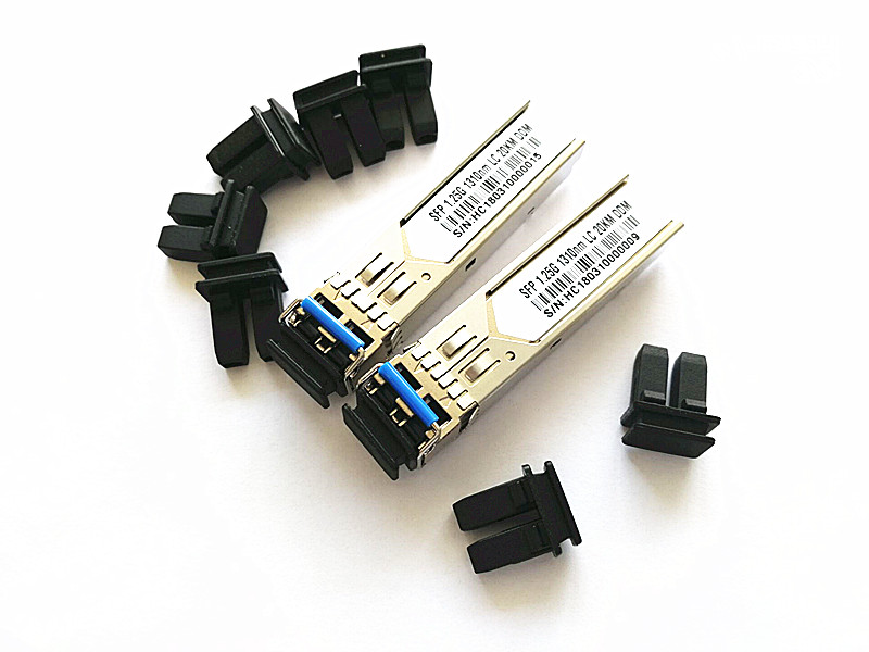 Dust Cover//Plug//Cap for SFP//XFP LC Simplex fiber Transceivers 100pc//lot SFP SFP