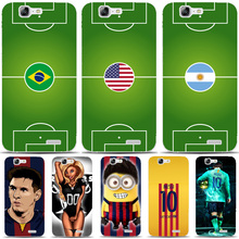G544 Messi Football Style Transparent Hard Thin Skin Case Cover For Huawei P 6 7 8 9 10 Lite Plus Honor 6 7 8 4C 4X G7