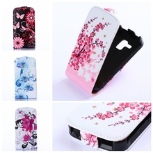 Fashion Flip Leather Case For Samsung Galaxy Trend Plus S7580 S7582 S Duos S7562 GT-S7562 7560 Magnet Style Cover Fundas Capa