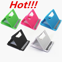 Komytoo Universal Adjustable Foldable CellPhone Tablet Desk Stand Holder Smartphone Mobile Phone Bracket for iPad Samsung iPhone(China)