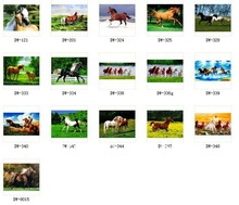 Free shipping hot sell small size fabric picture,new technical items,gobelin tapestries,all kinds of horses(China)