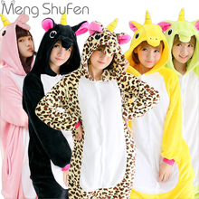 One piece Panda Unisex Unicorn Tenma Pajamas Sets Animal Costume Anime  Cosplay Sleepwear Party Costume For Men Women Adults
