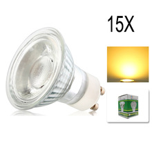 15x Dimmable 10W GU10 COB LED Energy Bulbs Spot light lamp with Beautiful Warm Cold White Colour AC195-240V