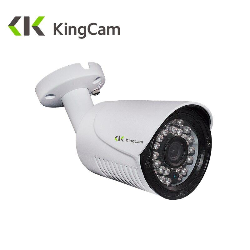 Kingcam 5MP H.265 HisiliconDSP OV05A10 Sensor Security Metal POE IP Camera Surveillance outdoor Bullet CCTV Waterproof Cameras<br>