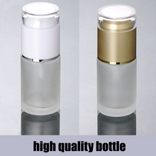 30ml 40ml 60ml 80ml 100ml 120ml Acrylic cap matte glass spray pump bottle lotion Frosted glass Bottles Cosmetic Packaging