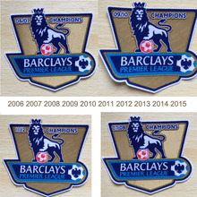 2006-2015 England Premier League Champions Patch Gold Sleeve Soccer Patch Badge