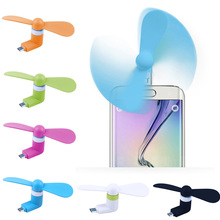 Mini USB Fan Ventilator Mini Portable Fan TPE Fan Electronic Gadget PC Cooler for Android iPhone Type C Unviersial Mobile Phone