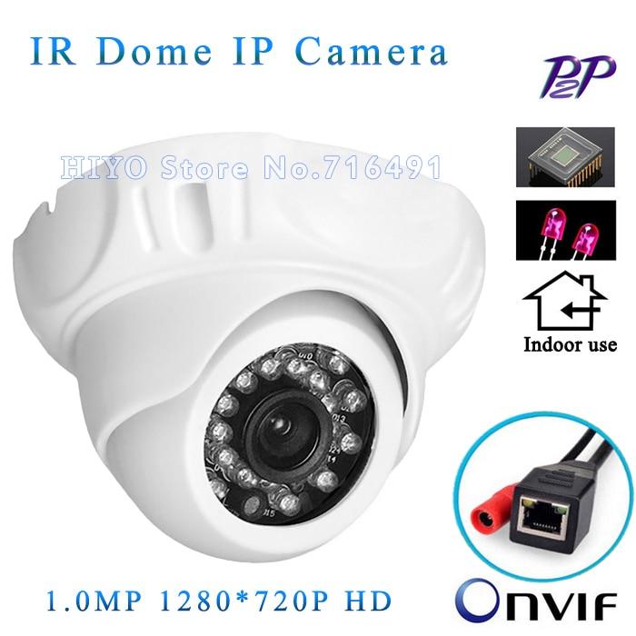 Mini IP Camera 720P Security HD Network CCTV Camera Mega pixel indoor Network IP Camera ,ONVIF H.264 free shipping<br>