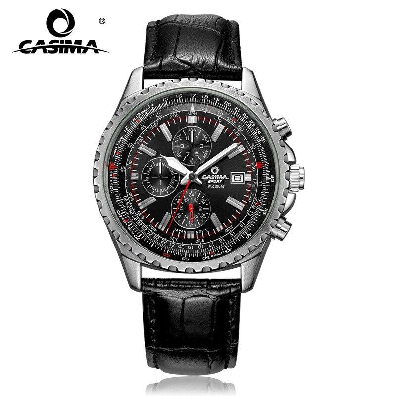 Luxury brand watches men fashion classic sport mens quartz wrist watch relogio masculino waterproof 100m CASIMA#8882<br>