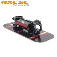 Bicycle Stem RXL SL T800 Carbon Body+Aluminum Racing MTB Stems 6 degree Red Line Cycling Bicycle Table 60/70/80/90/100/110/120