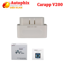 Newest OBD2 Autophix CARAPP V200 mobile code reader Mini Smart Car Trip Computer carapp v 200 support IOS/ Android Dual System(China)