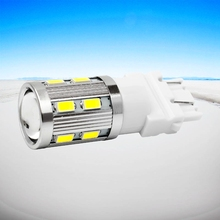 High Quality 3157 3156 Super 16 SMD 5730 LED Amber Yellow Turn Signal White P27W T25 Car bulbs Red P27/7W Auto Light Source Lamp