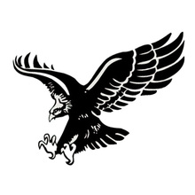Originality Car Accessories Fancy Car-Styling Flying Eagle Sport Sticker Car-Covers Whole Body Car Stickers And Decals CT-394