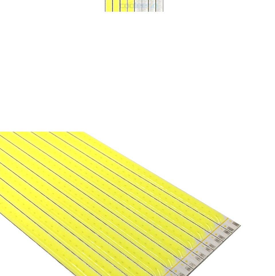 600x6mm LED Light Strip 60cm 12V 20W 3000K 6500K White Color COB LED Bar Lights for Car Lighting Bulb House Work Lamp DIY (6)