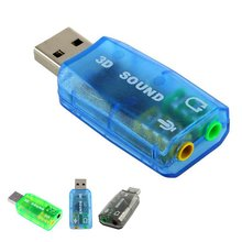 7.1 External USB Audio USB Sound Card Mic Speaker Audio Interface For Laptop PC MicroData
