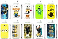 Online-custom despicable me hard plastic back cover case for Samsung Galaxy Win i8550/i8552/i8558 Free Shipping