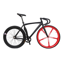 Buy Fixed Gear Bike Fixie Bike 46/52cm Customize DIY 700C Muscular Frame Bicicleta City Bike Fixie Track Bicycle Fixed Gear bike for $299.00 in AliExpress store