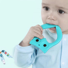Best Price BABY Silicone Teething Nursing Breastfeeding Necklace Chew Chewable Jewelry(China)