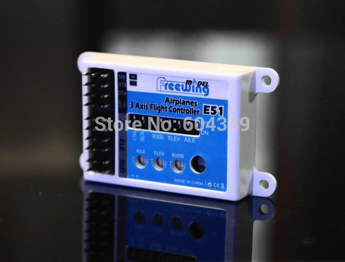 Freewing 3 Axis Flight Controller FPV Stabilizer E51 Gyro for RC Airplanes<br><br>Aliexpress