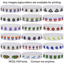 Dobro 18 Choices North American Football Sport Team Printed Grosgrain Ribbons for Hair Item DIY Craft Party Decoration(China)