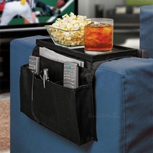 Storage Organizer Settee Couch Sofa Remote Control Table Holder Organiser Household Storage Bag