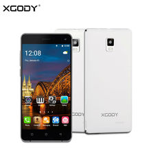XGODY X12 5.0 Inch Smartphone Android 5.1 Quad Core 2GB RAM 16GB ROM Dual SIM Mobile Phone 8MP WiFi GPS 3G Unlocked Cell Phones