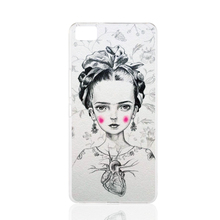 13227 Frida Kahlo girl cell phone Cover Case for BQ Aquaris M5 for ZUK Z1 FOR GOOGLE nexus 6