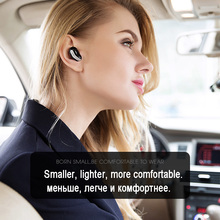 Mini Wireless Bluetooth Headset handsfree Ultra small Earphone with Microphone for Mobile phone Xiaomi Huawei iphone samsung(China)