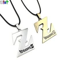 Buy Anime Peripheral Pendant Necklace Dragon Ball Z Necklace Saiyan Logo Vintage Accessories Jewelry collier collar collana for $1.71 in AliExpress store
