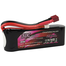 CNHL LI-PO 2200mAh 11.1V 30C(Max 60C) 3S Lipo Battery Pack for RC Hobby