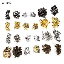 JETTING 14mm/18mm Magnetic Metal Snaps Fasteners Bag Purse Clasps Sewing Buttons For Handbag Craft Sewing Leather Coat Buttons