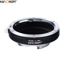 Buy K&F CONCEPT EOS-L/M Camera Lens Mount Adapter Ring Canon EOS EF Mount Lens Leica M Mount Camera Body for $24.68 in AliExpress store