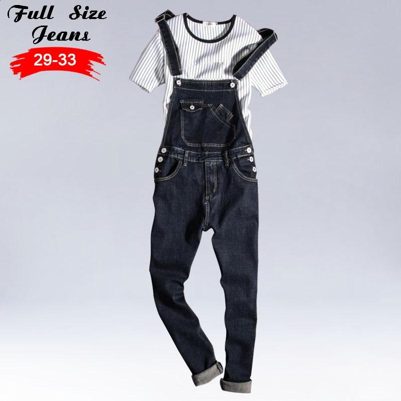 Kinsaga MenS Plus Size Casual Pocket Black Denim Overalls 4Xl 3Xl Vintage Slim Jumpsuits Pants Ripped Jeans For ManÎäåæäà è àêñåññóàðû<br><br>