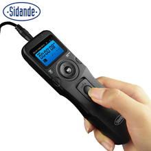 Sidande Digital Timing/Timer Remote Controller Shutter Release for Sony alpha A100 A200 300 350 A700 900 for Minolta Dynax 5D 7D