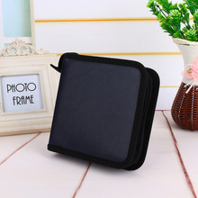 CD Holder Bags of Faux PU Leather 40 Disc CD DVD Holder Storage Cover Case Organizer Wallet Bag Album