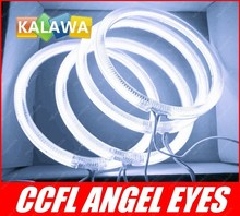 a set 120mm 12cm CCFL Angel Eyes / Halo Ring Halo Light for B.M.W E30 E32 E34 3 colors option GGG FREESHIPPING