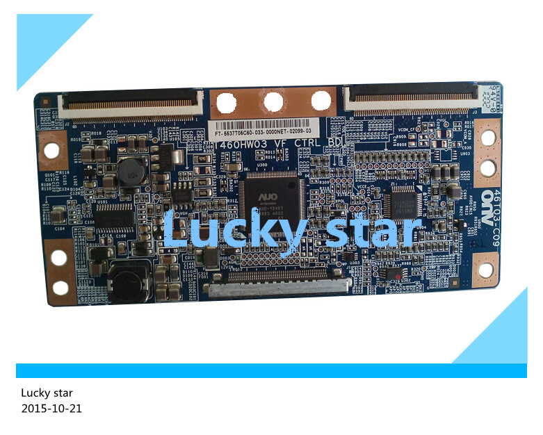 98% new good working High-quality original for board T460HW03 VF CTRL BD 46T03-C09 T-con logic board<br>