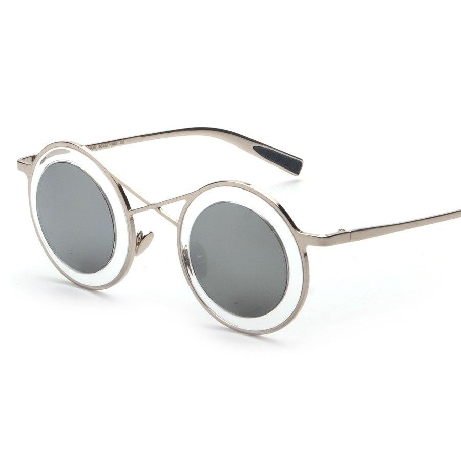 Top Grade Delicate Round Glasses Eyewear 2016 New Vintage Retro Fashion Sunglasses Women Men Brand Designer UV400 oculos de sol<br><br>Aliexpress