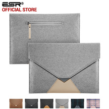 For iPad Pro 12.9 inch Case Sleeve, ESR Felt Protective Carrying Bag with Back Pocket Pencil Holder Pouch for iPad Pro 12.9 inch
