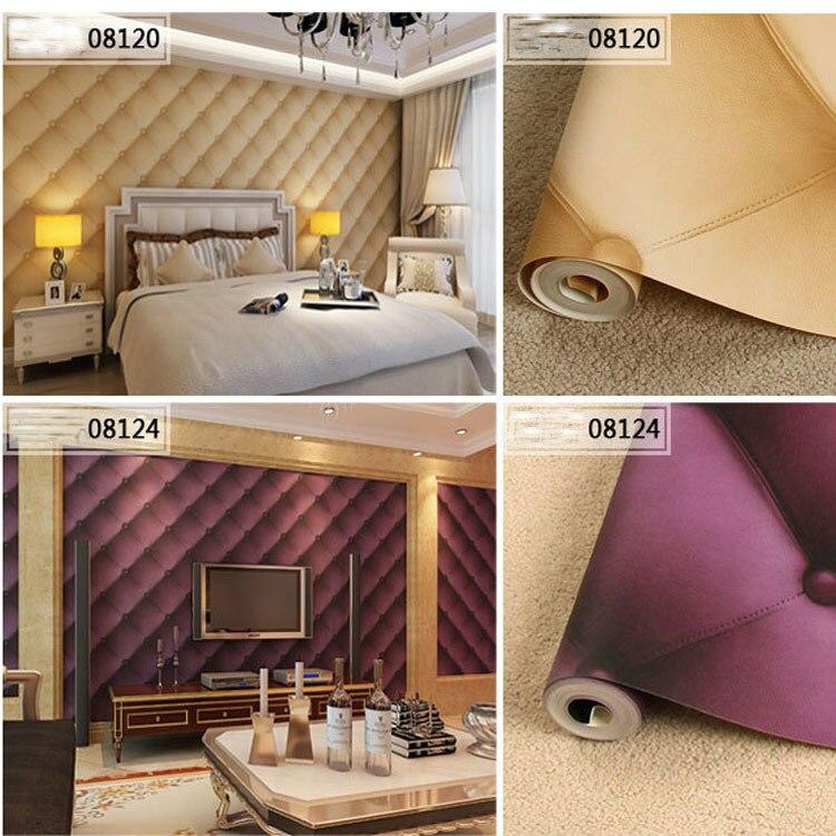 Fashion Rhombic Pattern 3D Wallpaper KTV Box Entertainment Hotel Decoration Wall Paper Plaid Wallpapers Papel de Parede QZ0032<br>