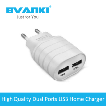 [Bvanki] 1000Pcs/lot Bulk Buy From China 5V/2A Charge QC2.0 Adaptive Fast Home 2 Multi Ports USB Wall Charger with quick charge